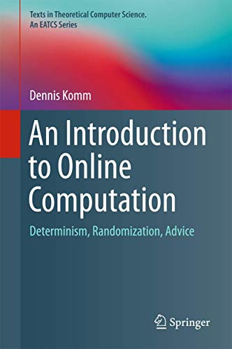 9783319427478: An Introduction to Online Computation: Determinism, Randomization, Advice (Texts in Theoretical Computer Science. An EATCS Series)