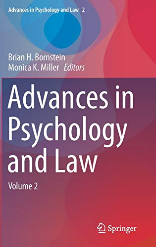 9783319430829: Advances in Psychology and Law: Volume 2
