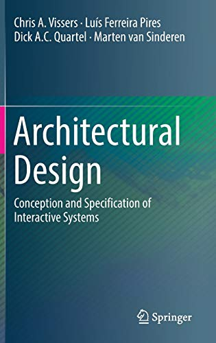 9783319432977: Architectural Design: Conception and Specification of Interactive Systems