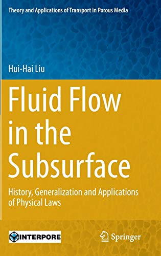9783319434483: Fluid Flow in the Subsurface: History, Generalization and Applications of Physical Laws (Theory and Applications of Transport in Porous Media)