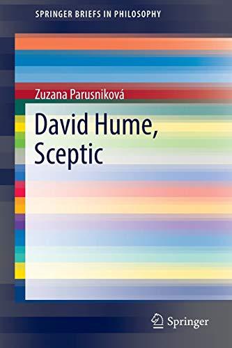 9783319437927: David Hume, Sceptic (SpringerBriefs in Philosophy)