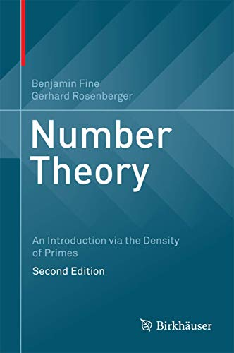 9783319438733: Number Theory: An Introduction via the Density of Primes