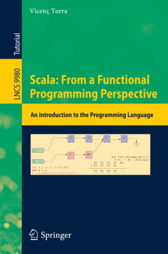 Scala: From a Functional Programming Perspective: An: Torra, Vicen?
