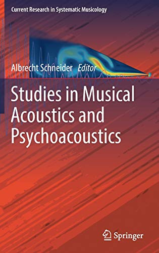 9783319472911: Studies in Musical Acoustics and Psychoacoustics (Current Research in Systematic Musicology)