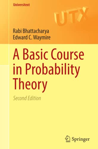 9783319479729: A Basic Course in Probability Theory (Universitext)