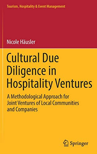 Cultural Due Diligence in Hospitality Ventures: A Methodological Approach for Joint Ventures of ...