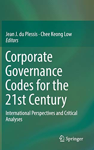 Corporate Governance Codes for the 21st Century: Jean J. du