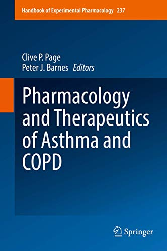 9783319521732: Pharmacology and Therapeutics of Asthma and COPD (Handbook of Experimental Pharmacology)