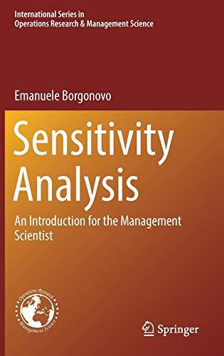 Sensitivity Analysis: An Introduction for the Management: Emanuele Borgonovo
