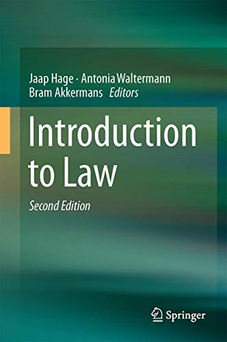 9783319572512: Introduction to Law
