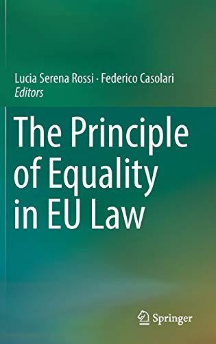 The Principle of Equality in EU Law (Hardback)