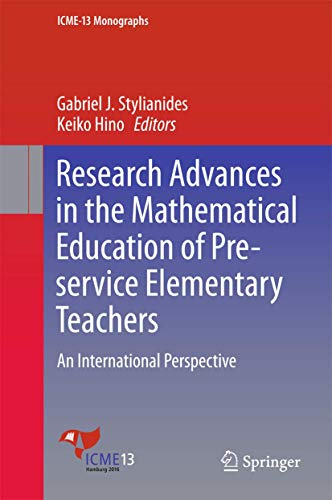 Research Advances in the Mathematical Education of Pre-service Elementary Teachers: An ...