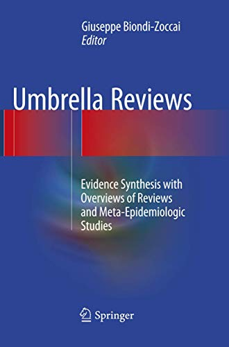 9783319798226: Umbrella Reviews: Evidence Synthesis with Overviews of Reviews and Meta-Epidemiologic Studies