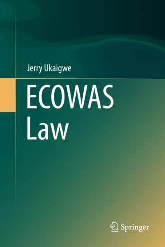 9783319799117: ECOWAS Law