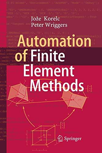 Automation of Finite Element Methods (Paperback): Joze Korelc, Peter