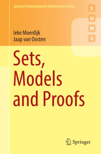 9783319924137: Sets, Models and Proofs