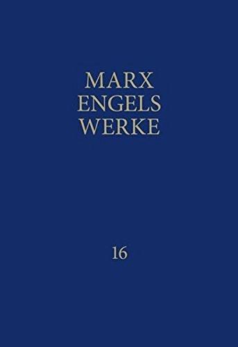 9783320002169: MEW / Marx-Engels-Werke Band 16: September 1864 - Juli 1870