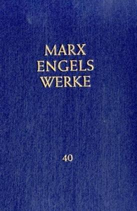 9783320002459: Werke, 43 Bde., Bd.40, Schriften und Briefe November 1837 bis August 1844