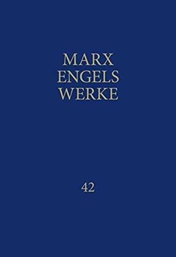 9783320002466: Werke 42: Ökonomische Manuskripte 1857 / 1858
