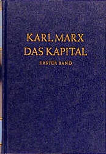 9783320002626: Das Kapital 1. Kritik der politischen Ökonomie: Der Produktionsprozess des Kapitals