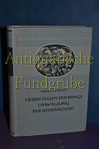 9783320002947: Herrn Eugen Dührings Umwälzung der Wissenschaft (