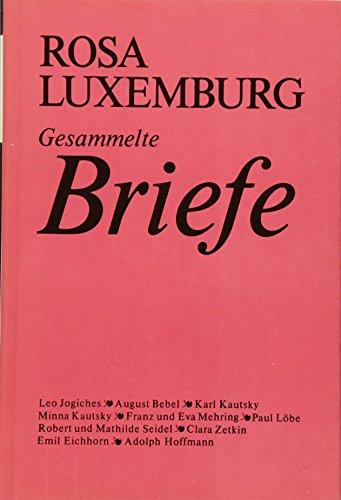 9783320004484: Gesammelte Briefe. Band 1.