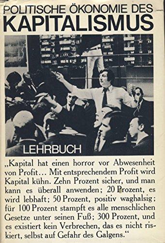 9783320005443: Politische Ökonomie des Kapitalismus. Lehrbuch