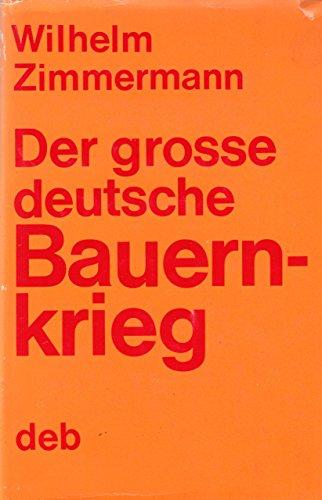 9783320012618: Der grosse deutsche Bauernkrieg. Volksausgabe