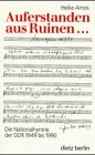 9783320019396: Auferstanden aus Ruinen--: Die Nationalhymne der DDR 1949 bis 1990