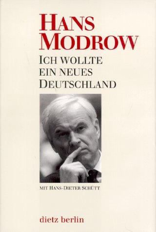 9783320019532: Ich wollte ein neues Deutschland