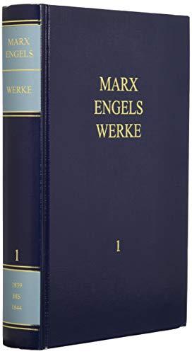 9783320020880: Werke 1: 1839 - 1844