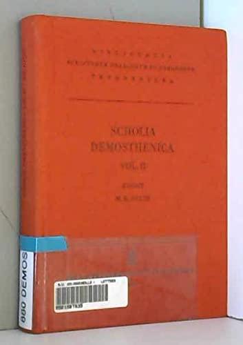 9783322002747: Scholia Demosthenica, Vol. II CB