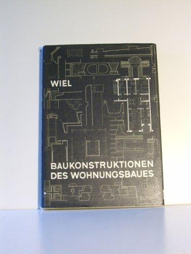 9783322003300: Baukonstruktionen Des Wohnungsbaues