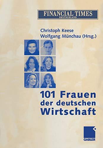 9783322826404: 101 Frauen der deutschen Wirtschaft (German Edition)