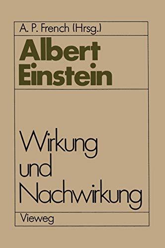 9783322831675: Albert Einstein Wirkung und Nachwirkung (German Edition)