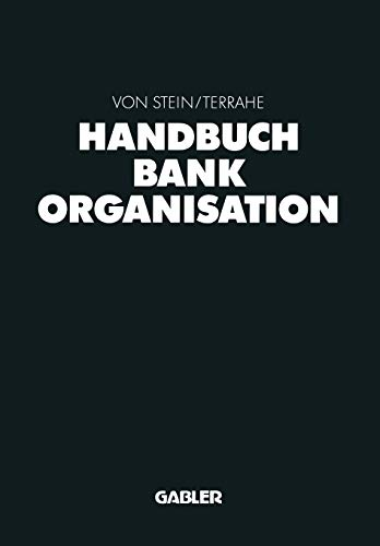 9783322847652: Handbuch Bankorganisation (German Edition)