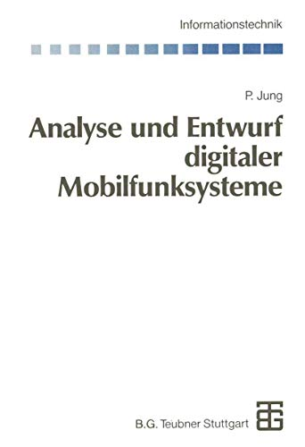 9783322848536: Analyse und Entwurf digitaler Mobilfunksysteme (Informationstechnik)