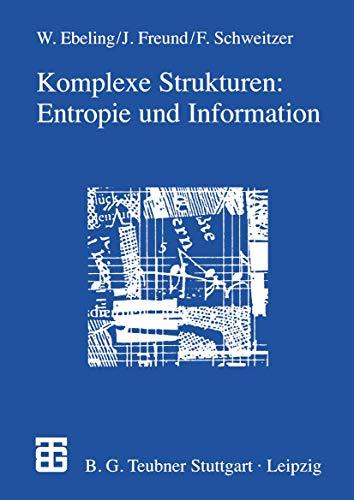 9783322851680: Komplexe Strukturen: Entropie und Information (German Edition)