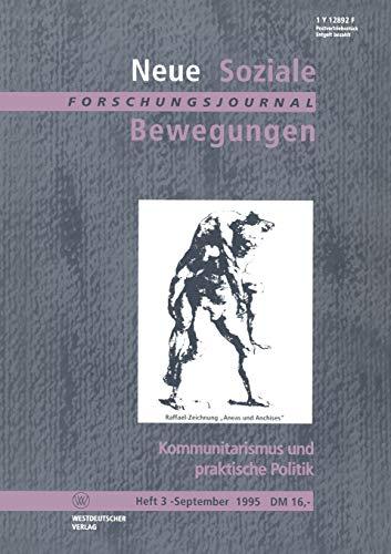 9783322979544: Kommunitarismus und praktische Politik (German Edition)