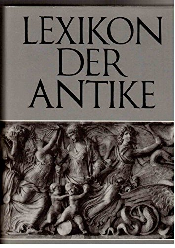 9783323000261: Lexikon der Antike (German Edition)