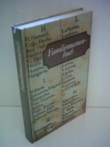 9783323000896: Familiennamenbuch