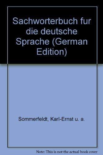 9783323002722: Sachwörterbuch für die deutsche Sprache