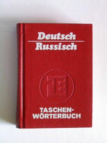 Taschenwörterbuch Deutsch-Russisch. Mit etwas 15.000 Stichwörtern: Ruzicka, Rudolf und