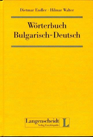 9783324002271: Wörterbuch Bulgarisch-Deutsch