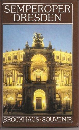 9783325001426: Semperoper Dresden