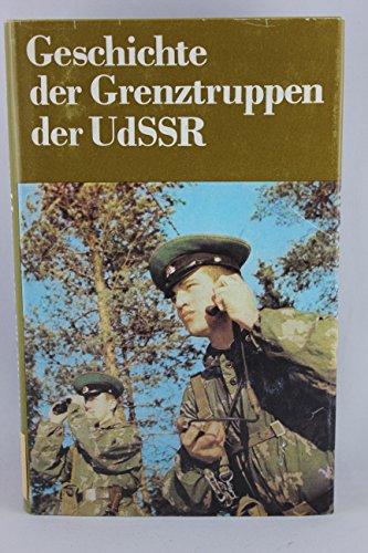9783327005033: Geschichte der Grenztruppen der UdSSR: Historischer Abriss (German Edition)