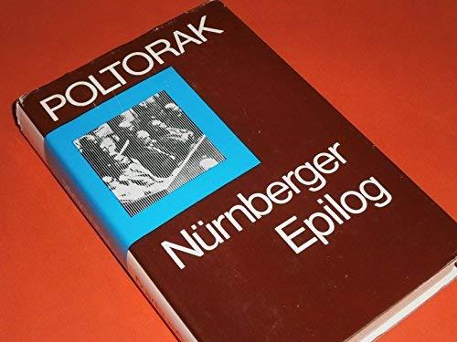9783327006351: Nürnberger Epilog.