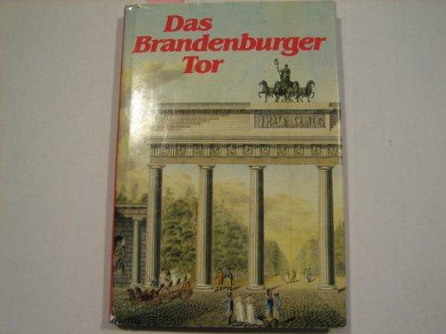 Das Brandenburger Tor (German Edition): Demps, Laurenz