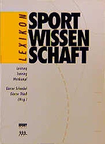 9783328004547: Lexikon Sportwissenschaft, 2 Bde.