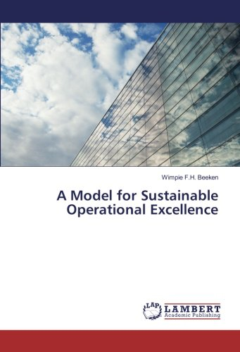 9783330006706 - Wimpie F.H. Beeken: A Model for Sustainable Operational Excellence - Buch